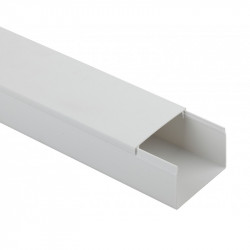 ЭРА Кабель-канал 60x40 белый (18м.) (9/252), 1 шт/2м