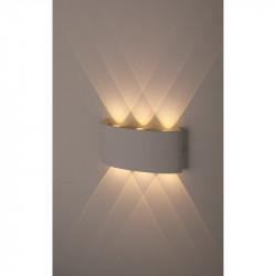 Светильник WL12 WH  ЭРА Декоративная подсветка светодиодная ЭРА 6*1Вт IP 54 белый