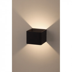 Светильник WL3 BK  ЭРА Декоративная подсветка светодиодная 6Вт IP 20 черный