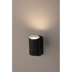Светильник WL27 BK  ЭРА Декоративная подсветка GU10 MAX35W IP54 черный