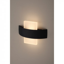Светильник WL7 WH+BK  ЭРА Декоративная подсветка светодиодная 6Вт IP 20 белый/черный
