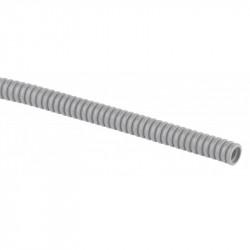 ЭРА Труба гофрированная ПВХ (серый) d 20мм с зонд. легкая 100м (15)