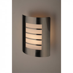 WL22 Подсветка ЭРА Декоративная подсветка E27 MAX40W IP44 хром/белый (12/96)