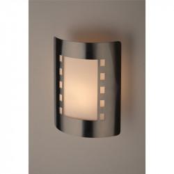 WL23 Подсветка ЭРА Декоративная подсветка E27 MAX40W IP44 хром/белый (12/96)