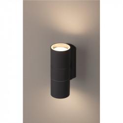WL28 GY Подсветка ЭРА Декоративная подсветка 2*GU10 MAX35W IP54 серый (20/540)