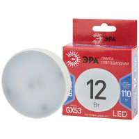 LED GX-12W-865-GX53 R ЭРА (диод, таблетка, 12Вт, хол, GX53) (10/100/4200)