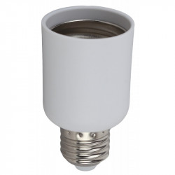 ЭРА Переходник E27-E40, пластик, белый (50/400/3600)