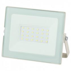 LPR-031-0-65K-030 ЭРА Прожектор светодиодный уличный 30Вт 2400Лм 6500К 139x104x35 белый (50/1200)