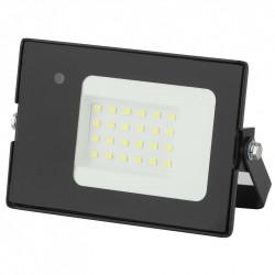 LPR-041-1-65K-020 ЭРА Прожектор светодиодный уличный 20Вт 1400Лм 6500К датчик нерегулир (80/1280)