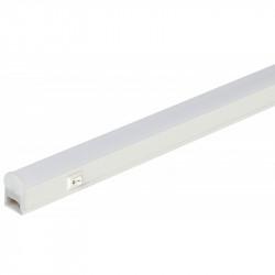 LLED-01-14W-4000-W ЭРА Линейный светодиодный светильник с выключателем  14Вт 4000К L1022мм (25/800)