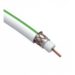 ЭРА Кабель коаксиальный SAT 703 B, 75 Ом, Cu/(оплётка Cu 75%), PVC, цвет белый, бухта 10 м (40/320)