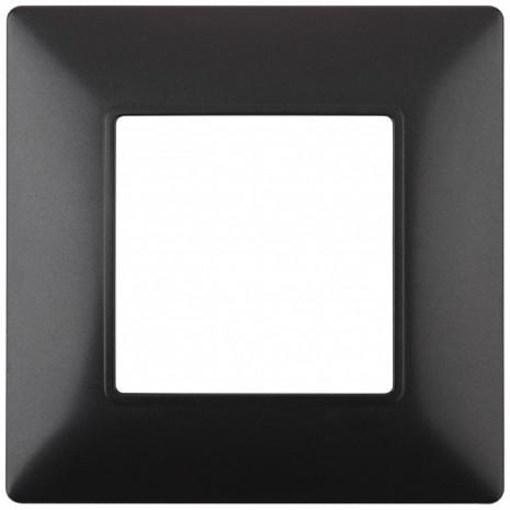 14-5001-05 ЭРА Рамка на 1 пост, Эра Elegance, антрацит (20/200/6000)