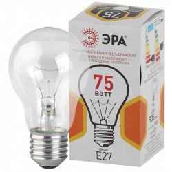 ЭРА A50 груша 75Вт 230В Е27 цв. упаковка (10/100/3600)