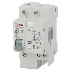 SIMPLE-mod-31 ЭРА SIMPLE Автоматический выключатель дифференциального тока 1P+N 25А 30мА тип АС х-ка