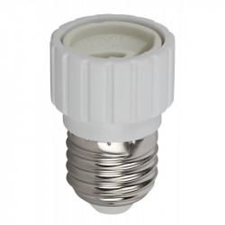 ЭРА Переходник E27-GU10, белый (20/200/7200)