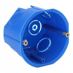 ЭРА Коробка установочн. КУТ 68х45мм для твердых стен саморез. синяя IP20 (200/4000)