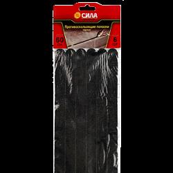 TAS72-10 СИЛА Противоскользящие полоски 60 см. 6 шт, (чёрные) (36/72/4320)